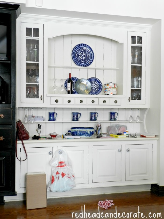 kitchen hutch trim the bumpy road to a pretty kitchen at the picket fence