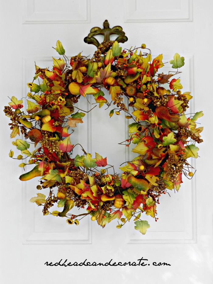 Beautiful Fall Wreath