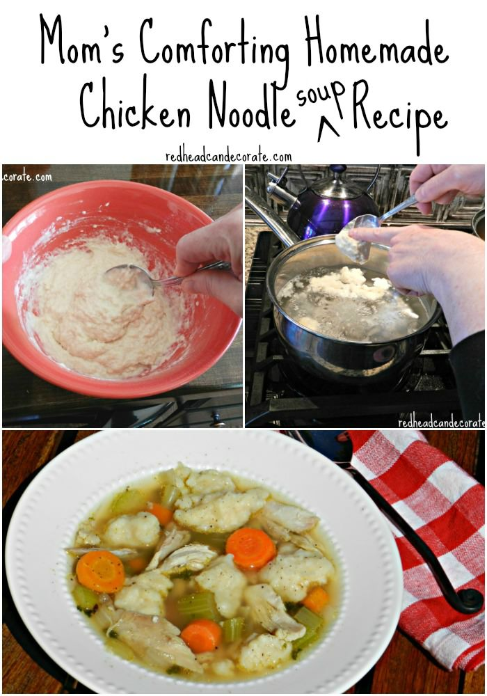 Mom's Homemade Noodle Recipe w: Chicken Noodle Soup too!