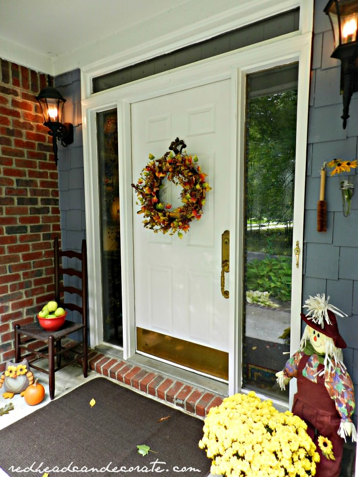 Where to find this Fall Wreath
