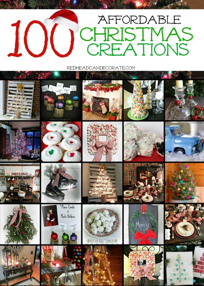 100 Affordable Christmas Creations