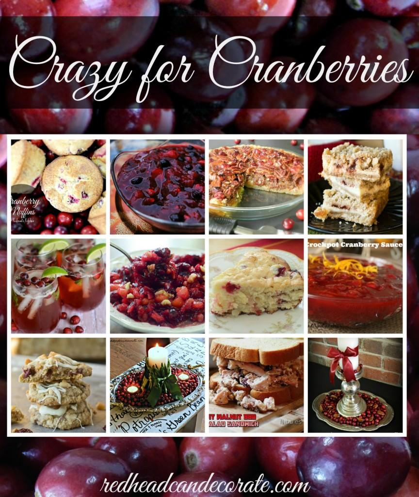 12 Cranberry Ideas