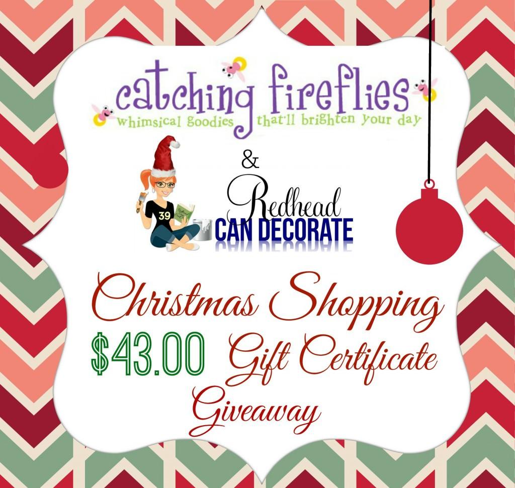 Christamas Shopping Giveaway
