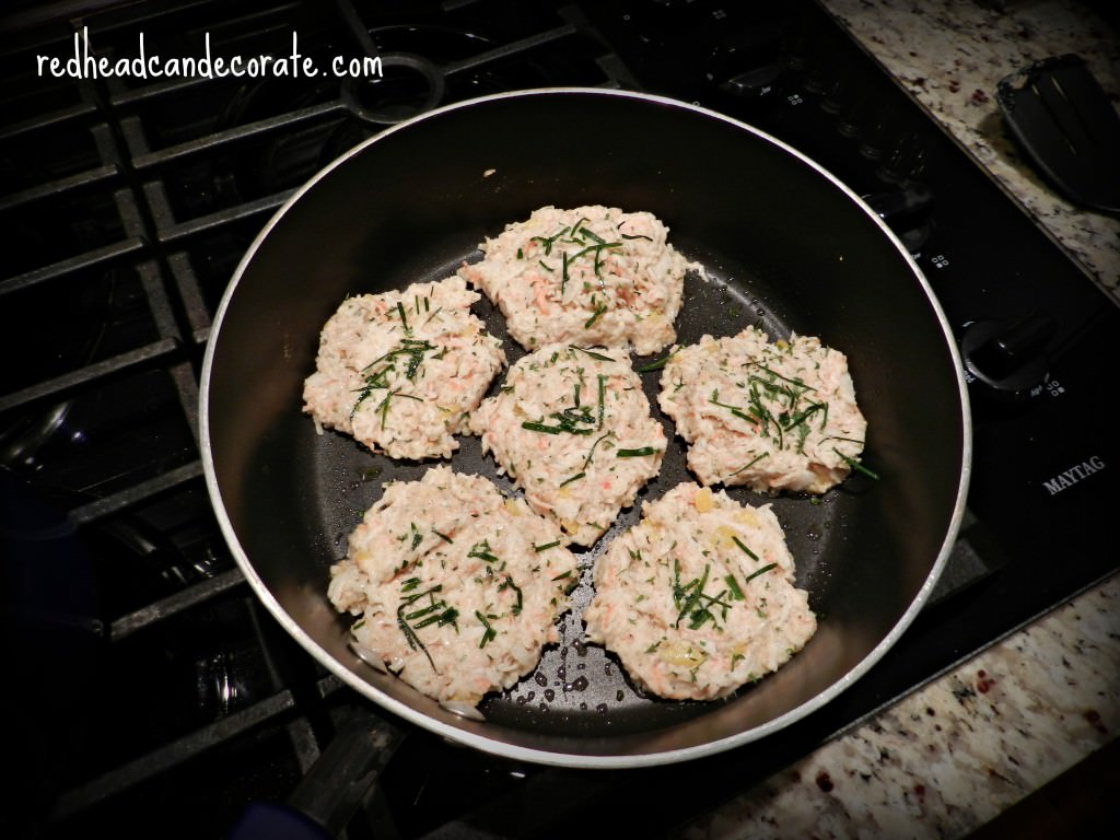 Easy Low Fat Crab Cakes