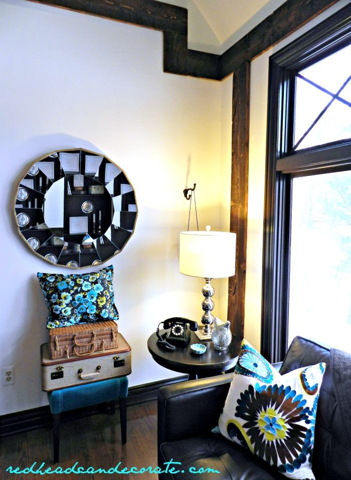 Pretty White Living Room Makeover