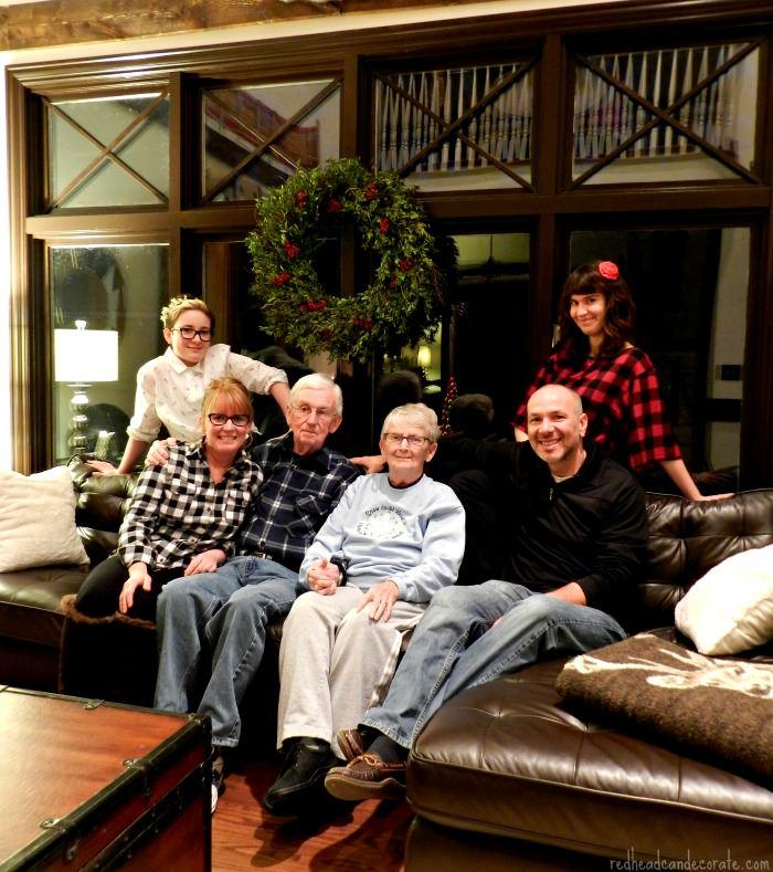 Thanksgiving 2014 Family Photo