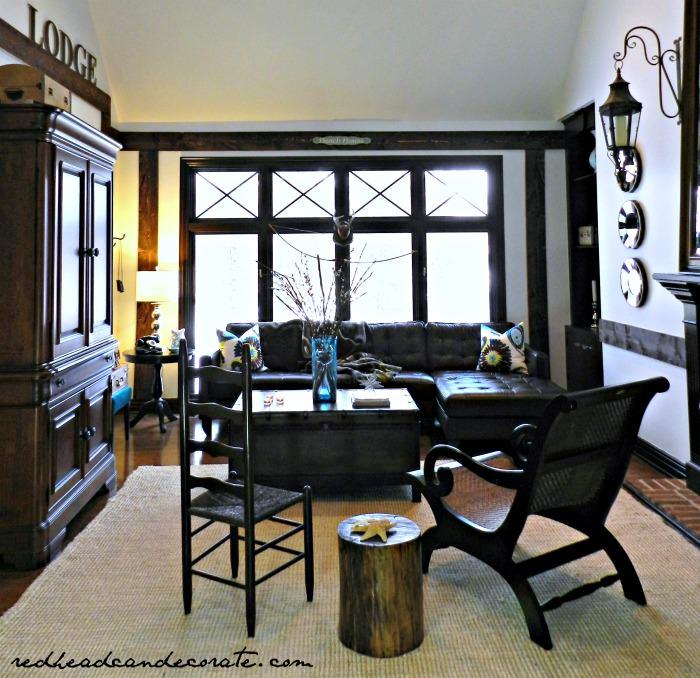 White Living Room Makeover