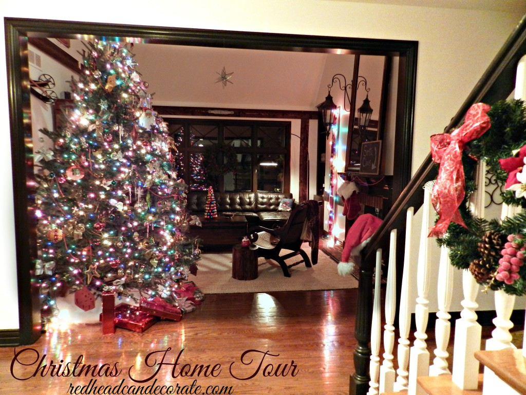 Christmas Home Tour by Red