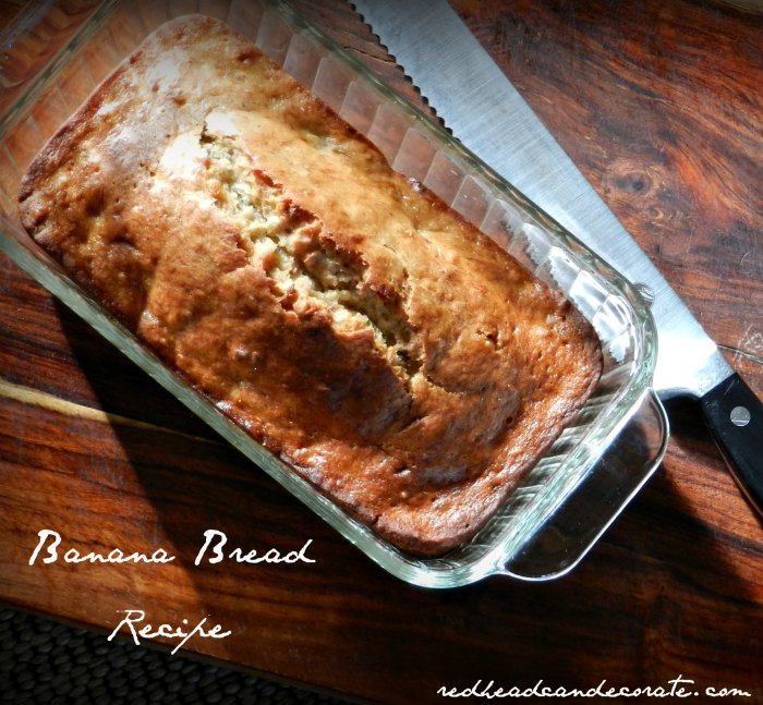 Easy Banana Bread