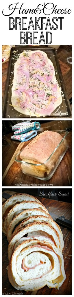 Ham & Cheese Breakfast Bread Tutorial