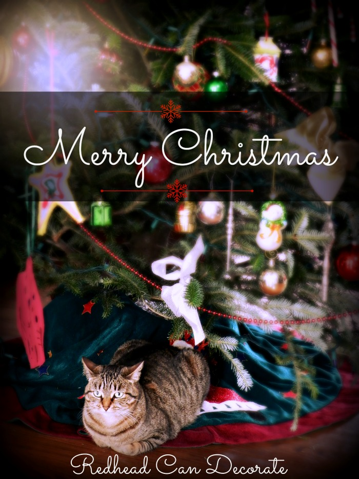 Merry Christmas from Redhead Can Decorate