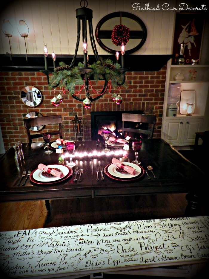 Pretty Christmas Home Tour by Redhead Can Decorate