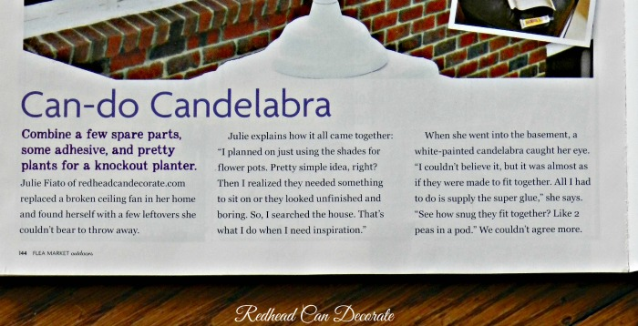Candelabra Article Magazine