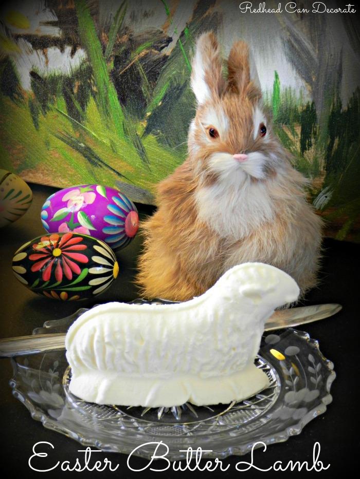 Easter Butter Lamb