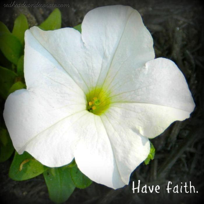Have Faith by redheadcandecorate.com