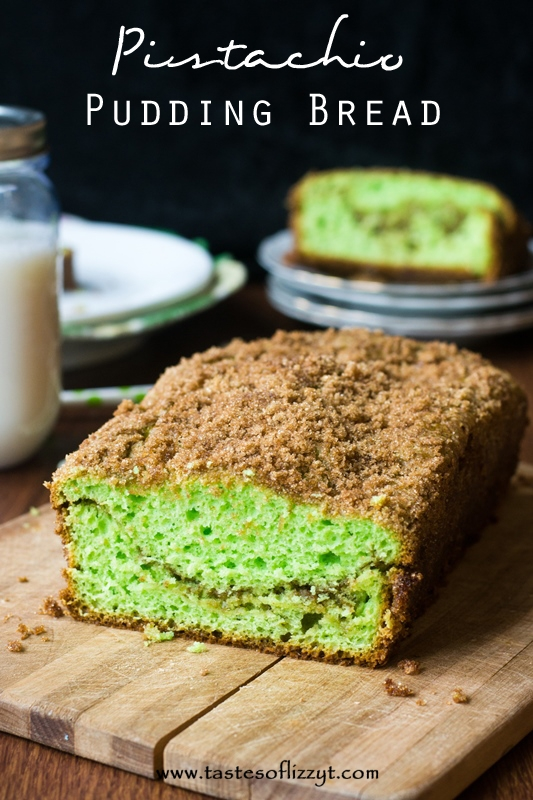 Pistachio Pudding Bread - Redhead Can Decorate