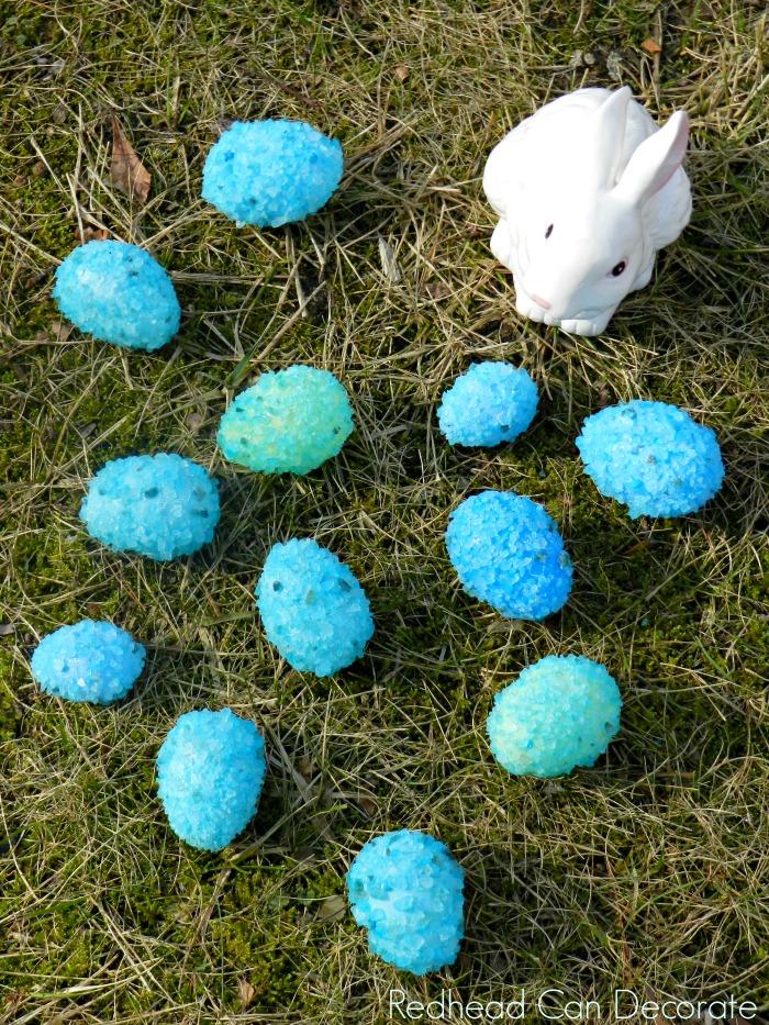 Sea Glass Easter Eggs