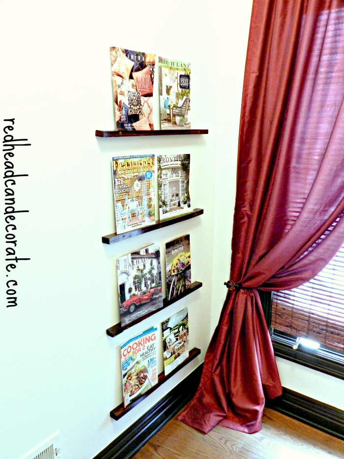 Very Easy Magazine Rack Idea