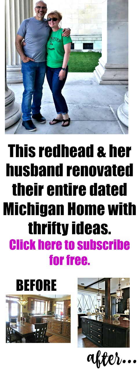 This Michigan couple nailed it wen it comes to thrifty DIY home makeovers!