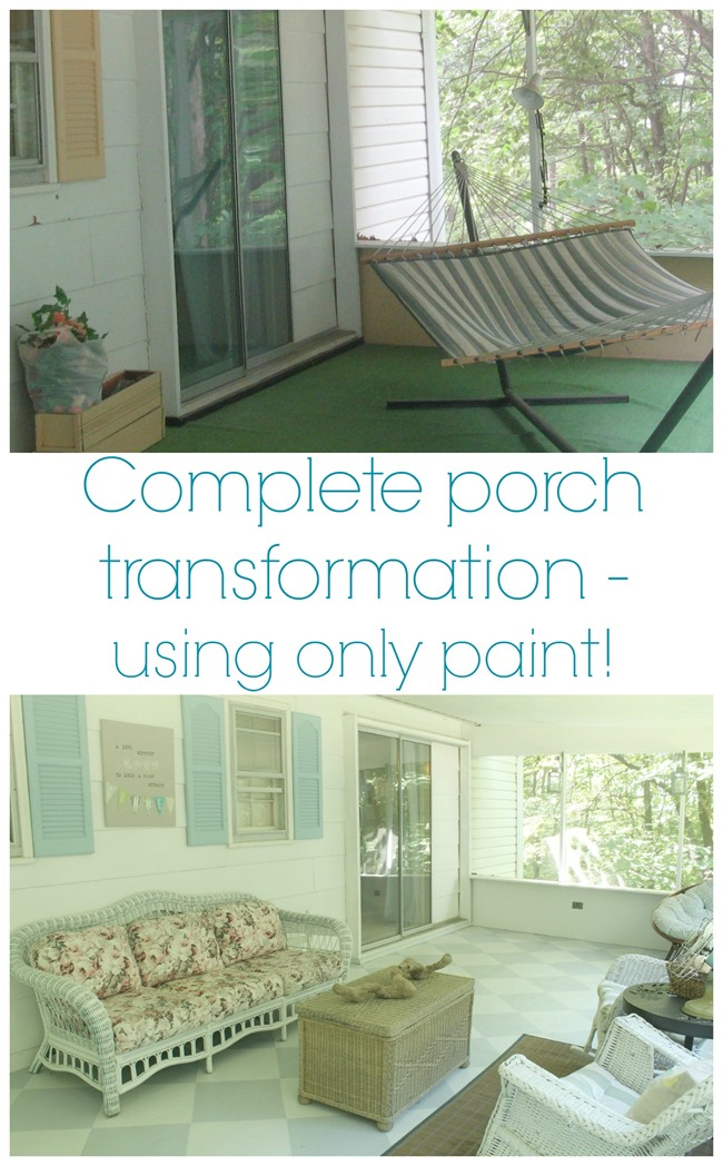 porch transformation