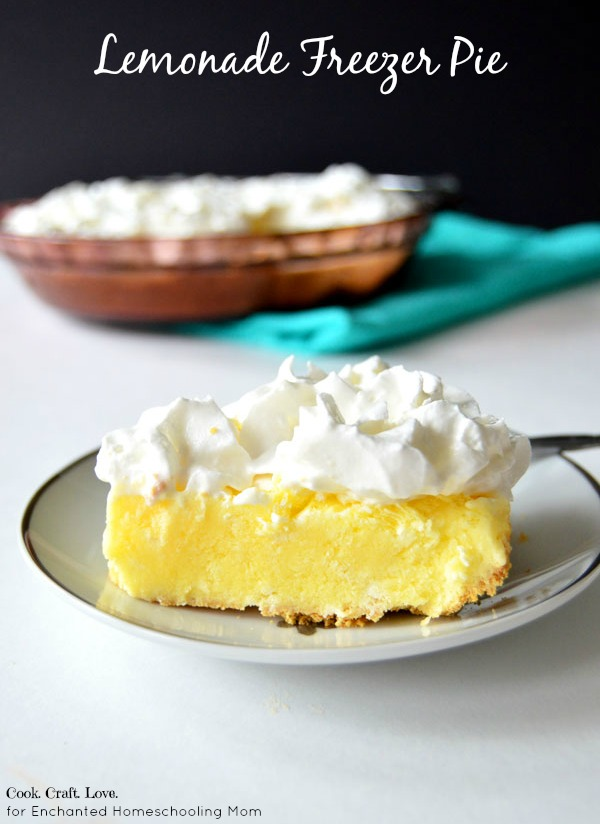 Lemon Freezer Pie