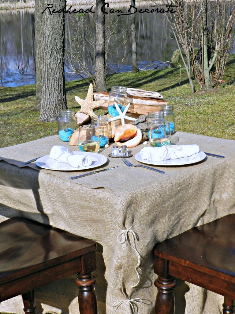 Seaside Tablescape Tutorial