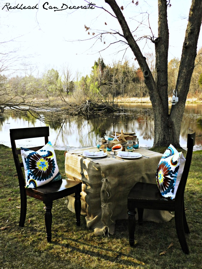 Summer Table by Redhead Can Decorate