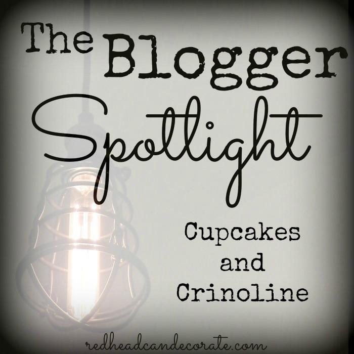 The Blogger Spotlight Cupcakes and Crinoline