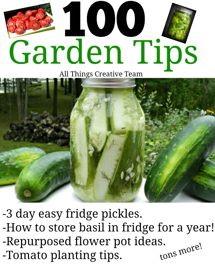 Tons of garden tips you may not know!