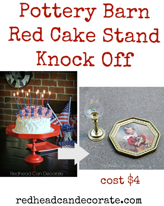 Transform thrift store finds into a gorgeous cake stand!