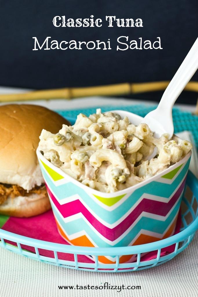 Classic Tuna Macaroni Salad {Tastes of Lizzy T}