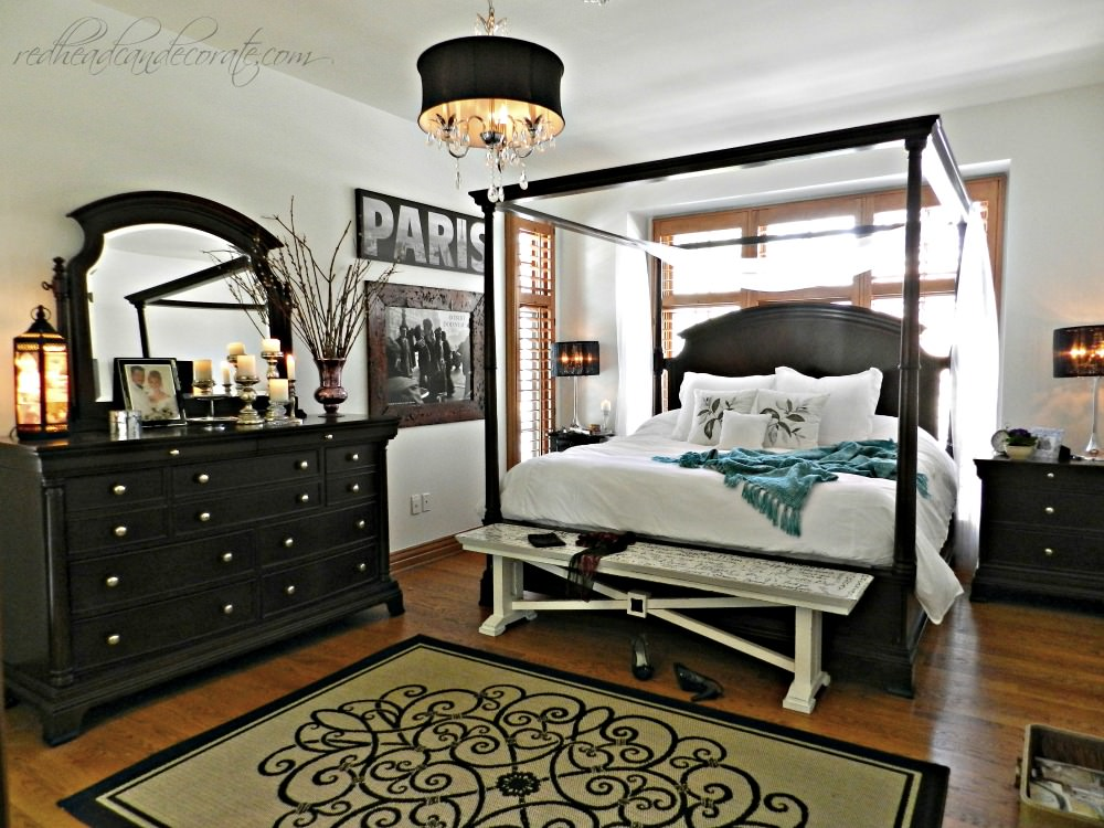 Lakeside home makeover tour at the picket fence Master bedroom makeover pinterest