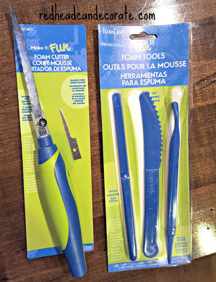 FloraCraft Make It Fun Foam Tools