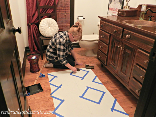 Julie Painting Rug