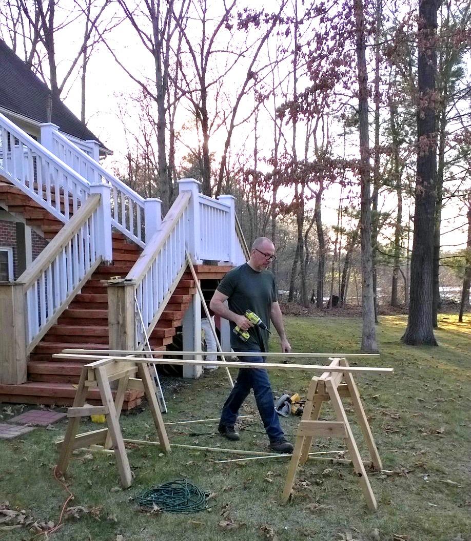Rick Saving the deck