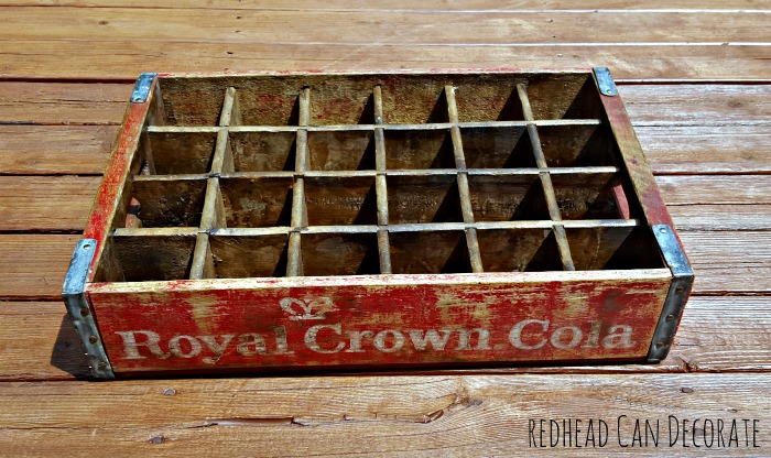 Royal Crown Cola Cubbie
