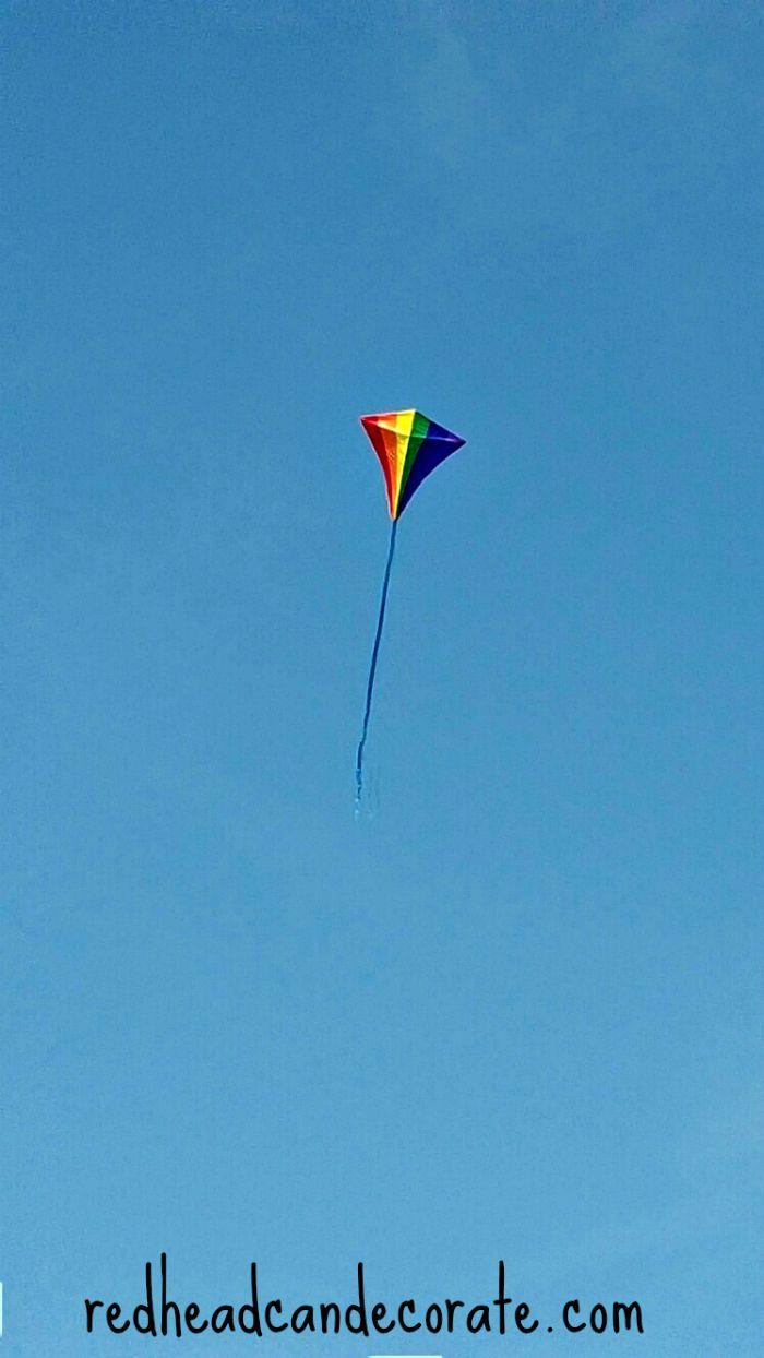 Kite Flying in Mackinac