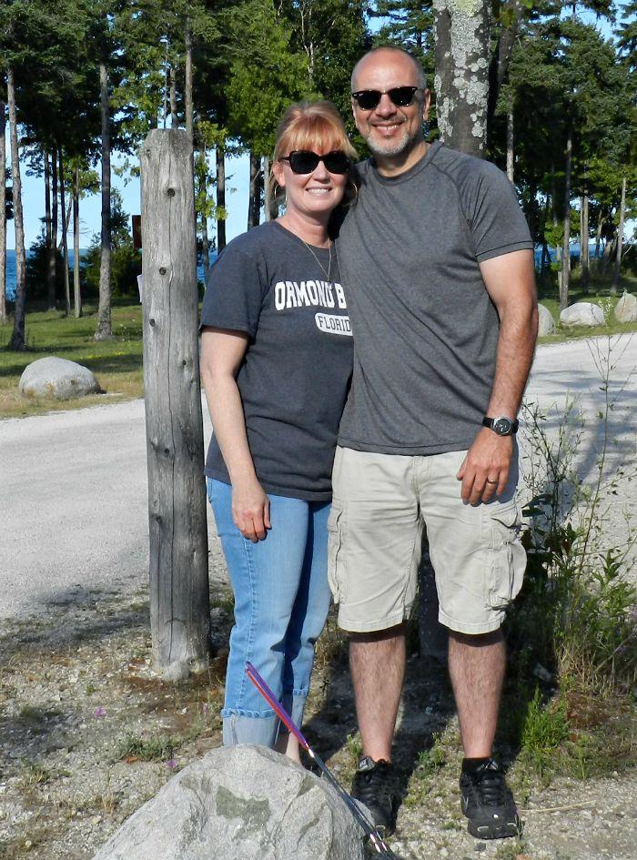 Rick & Julie Aug 6 2015