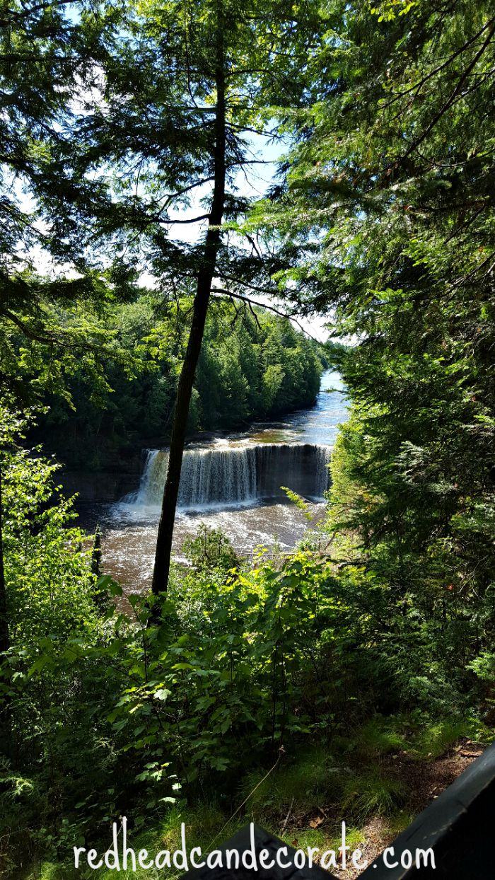 Taqaunamon Falls Upper Peninsula, Michigan