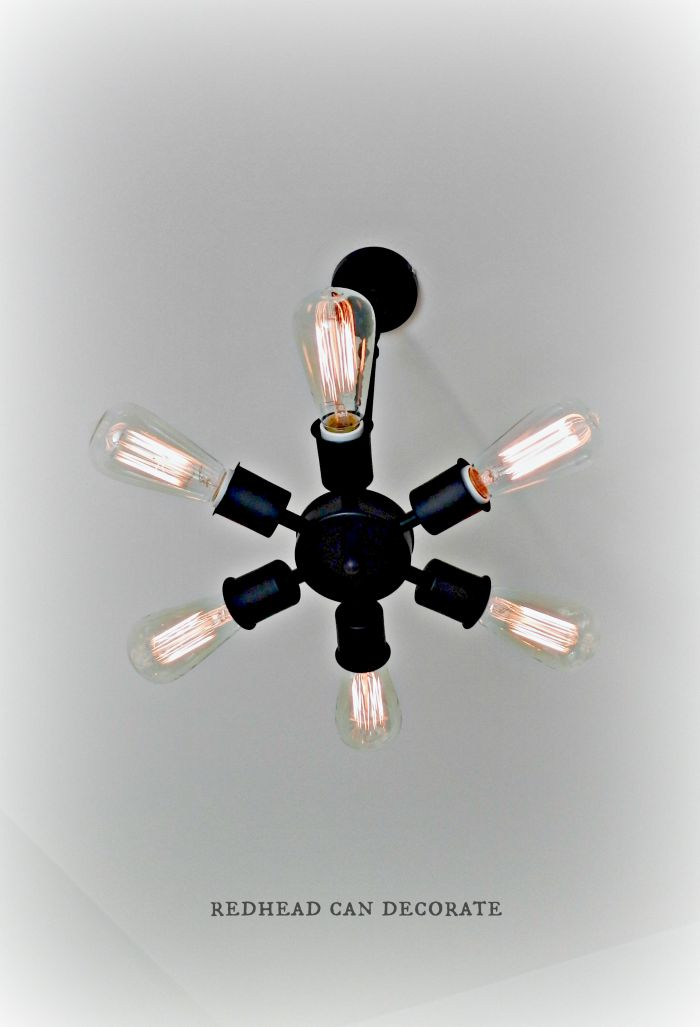 Vintage Light Bulb Light Fixture