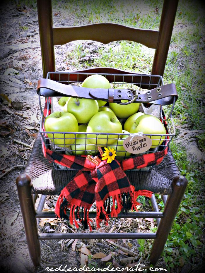 Apple Basket Idea