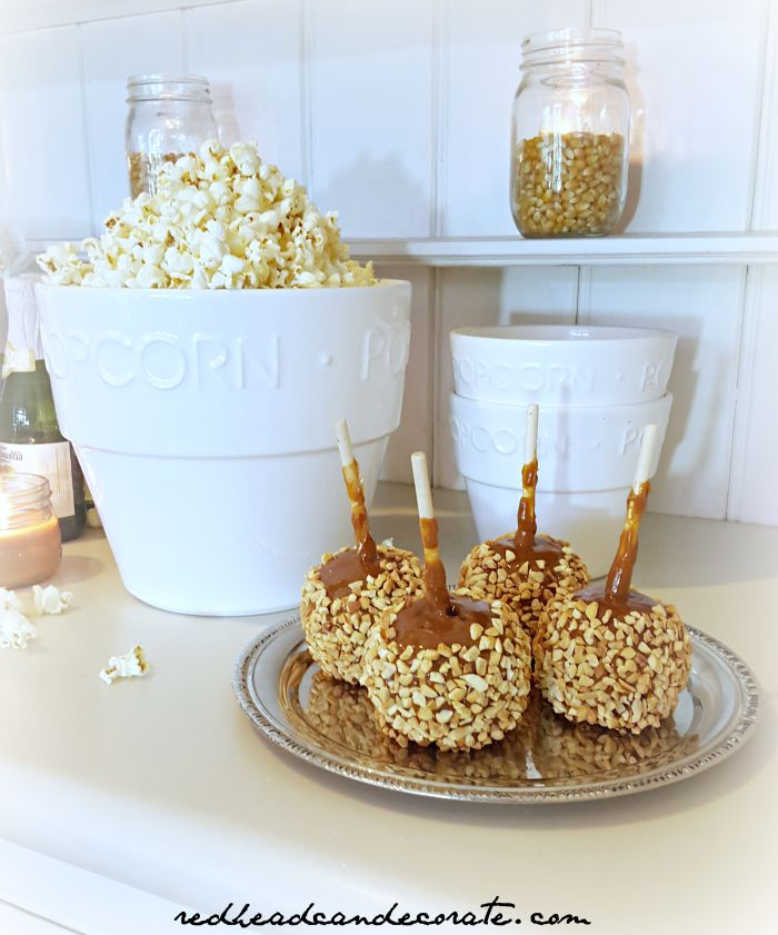 Caramel Apples w: Nuts