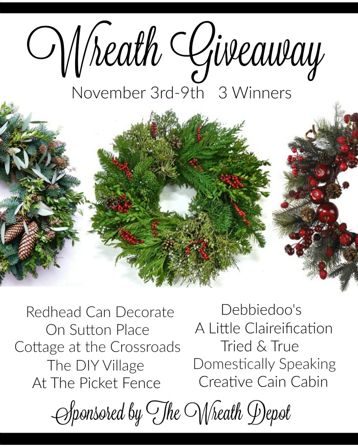 Best Best Best Wreath Giveaway