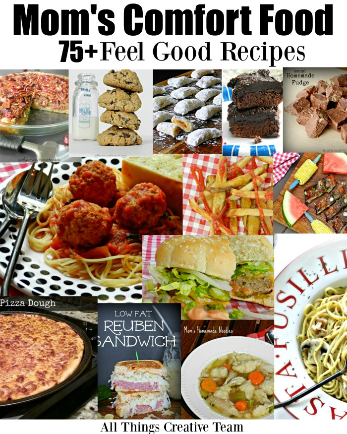Over 75 of Mom's Comforting Food at Your Finger Tips