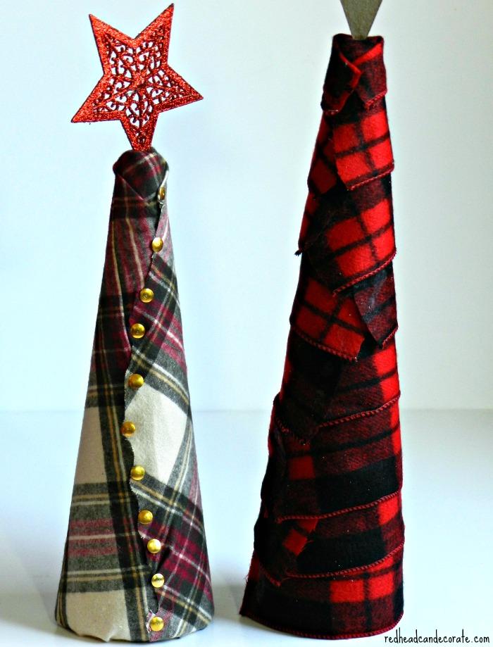 Flannel Tree Tutorial