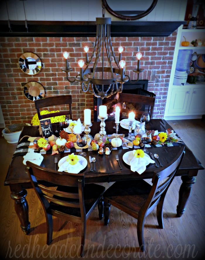 Pretty Thanksgiving Table