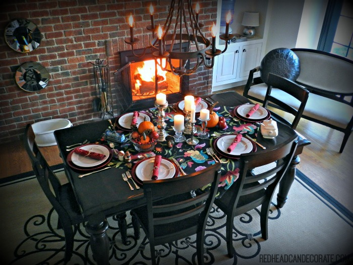 Thanksgiving Table 2012