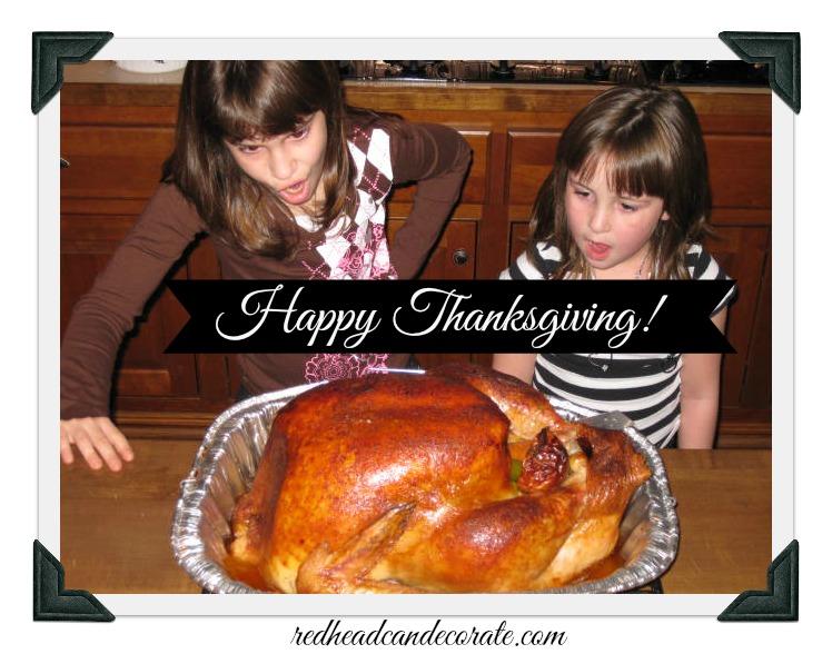 thanksgiving w turkey