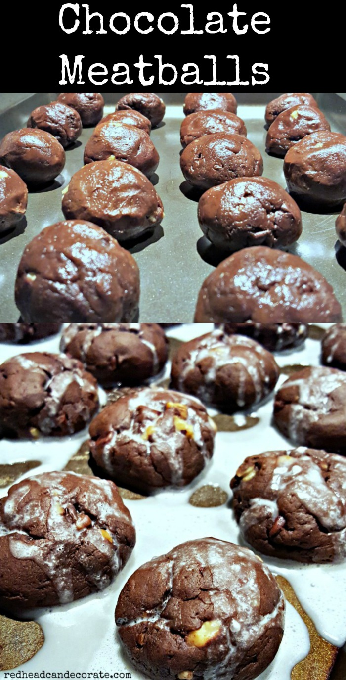 Chocolate Meatball Recipe