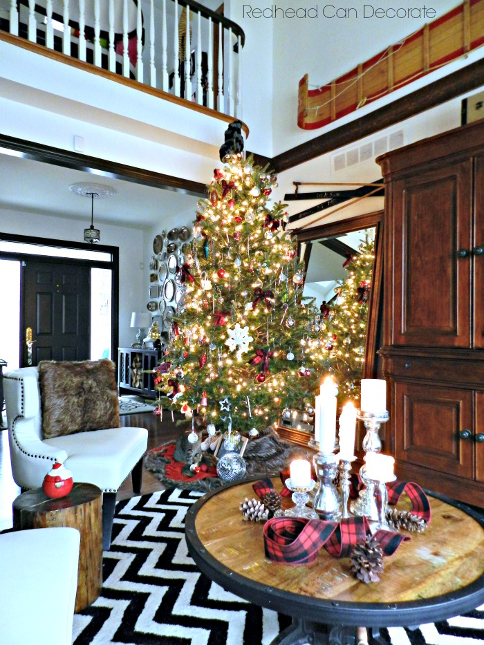 """Decorate My Home For Christmas my """"home for christmas"""" tour - redhead can decorate"""
